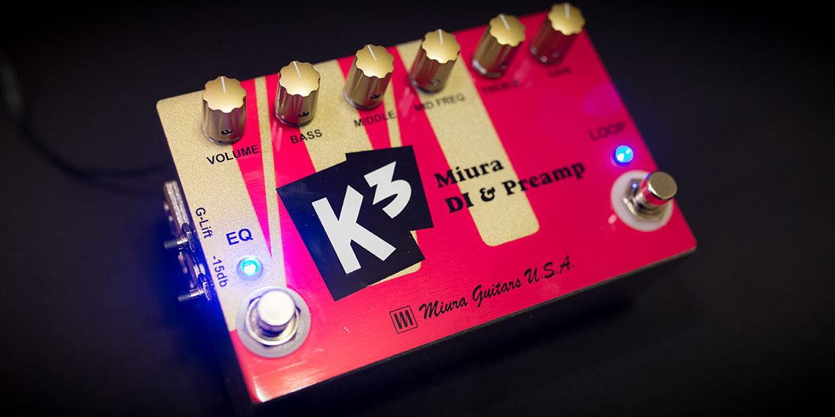 K3 Miura DI & Preamp
