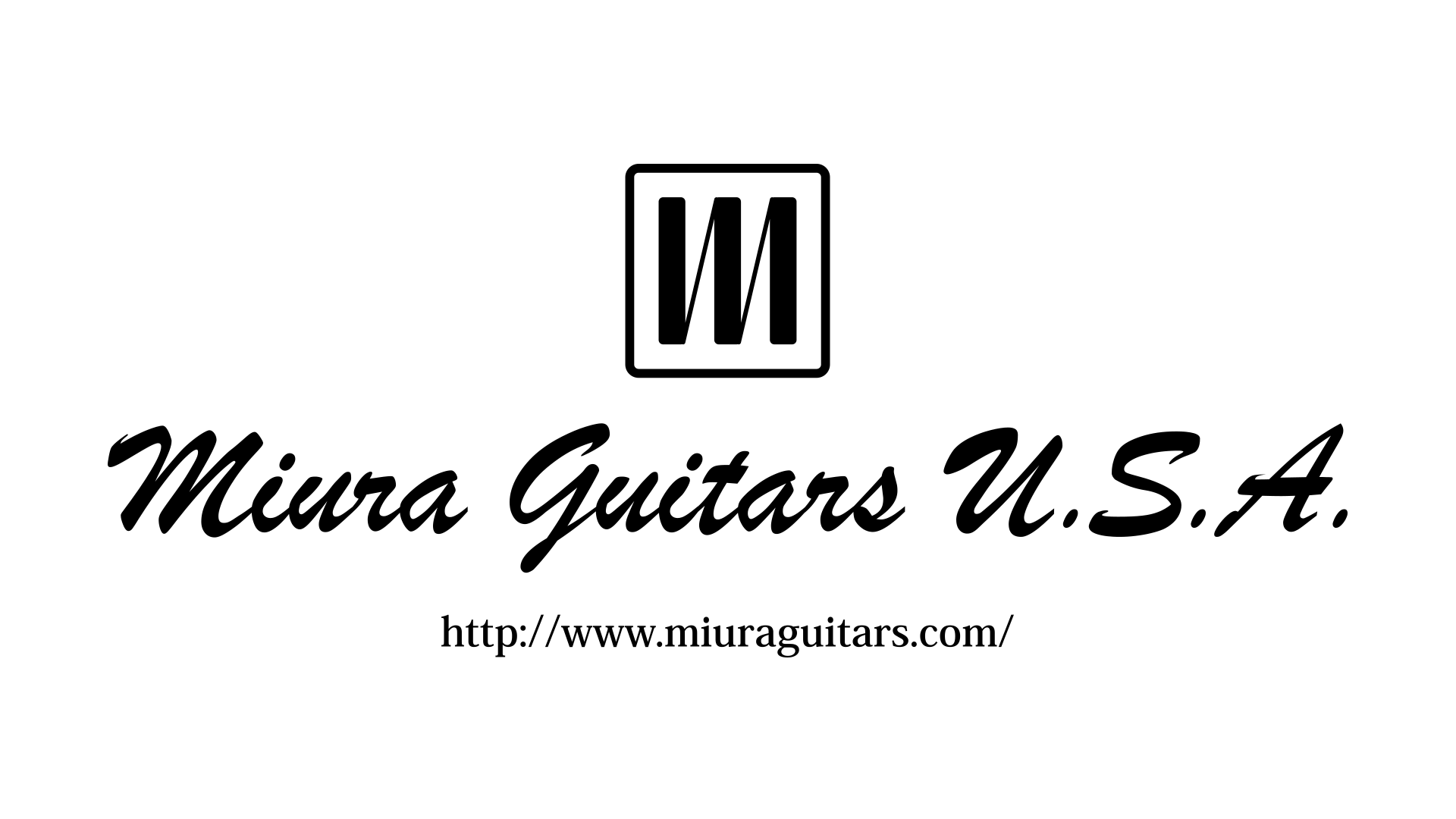 Miuta Guitars U.S.A